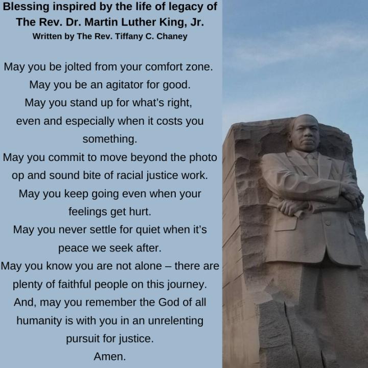 MLK Blessing